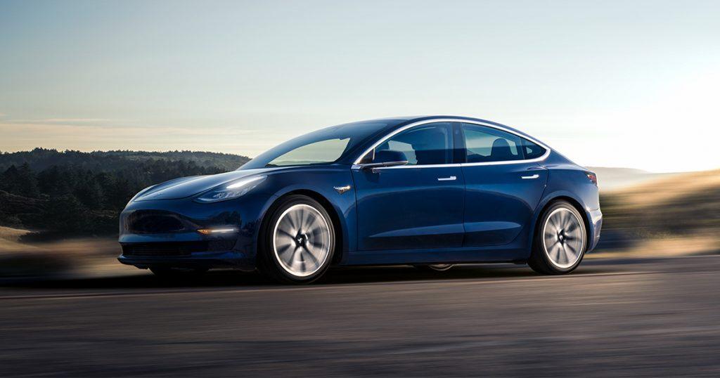 Tesla Model 3 goes 140 mph