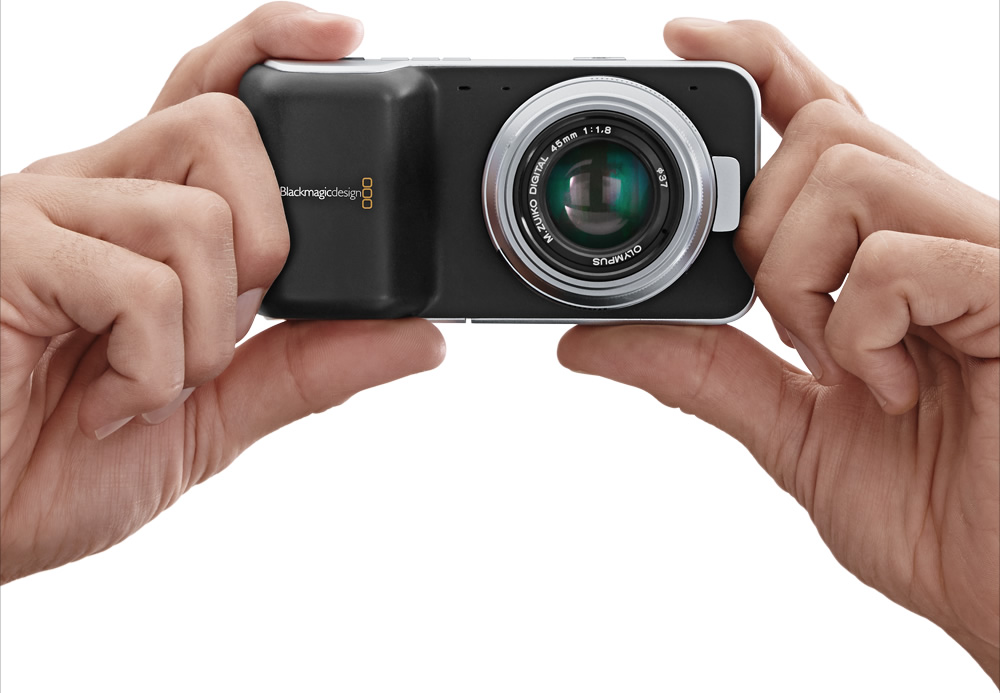 Blackmagic Pocket Cinema Camera 4K is super portable