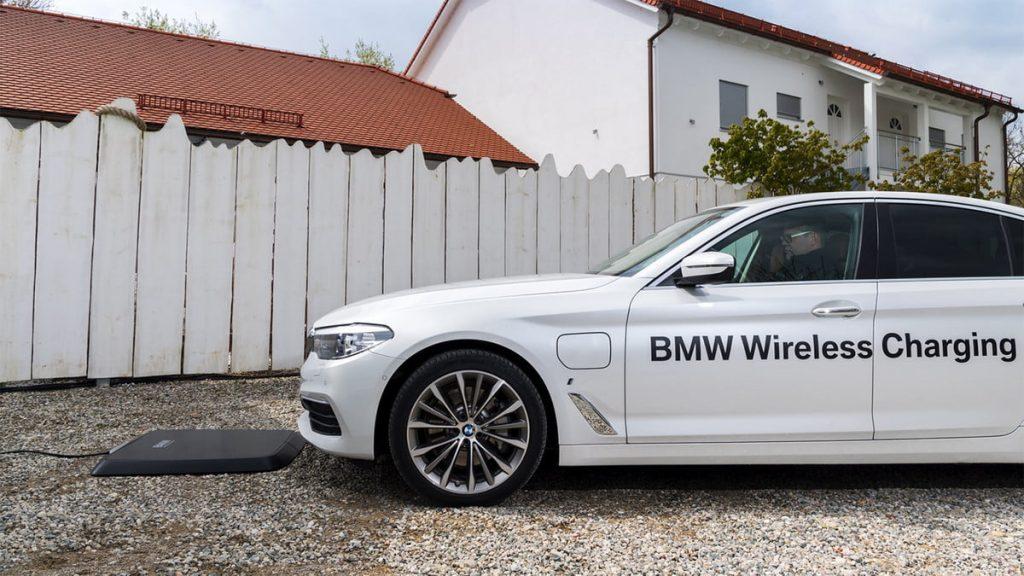 BMW Wireless Car Charging