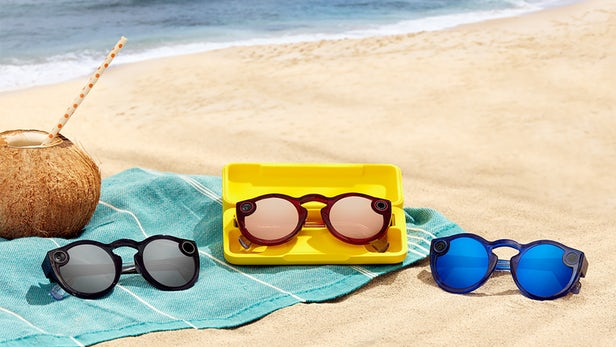 Snapchat Spectacles V2 are water resistent
