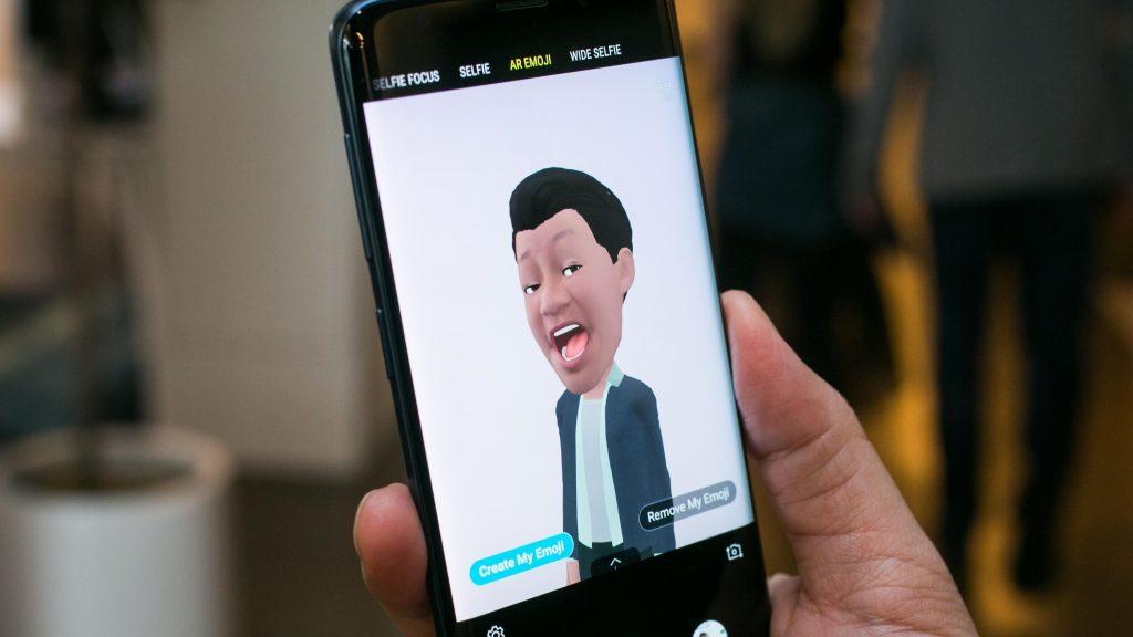 Samsung Galaxy S9 and S9 Plus AR Emoji