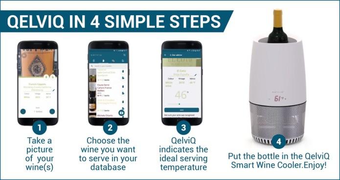 QelviQ Smart Wine Cooler