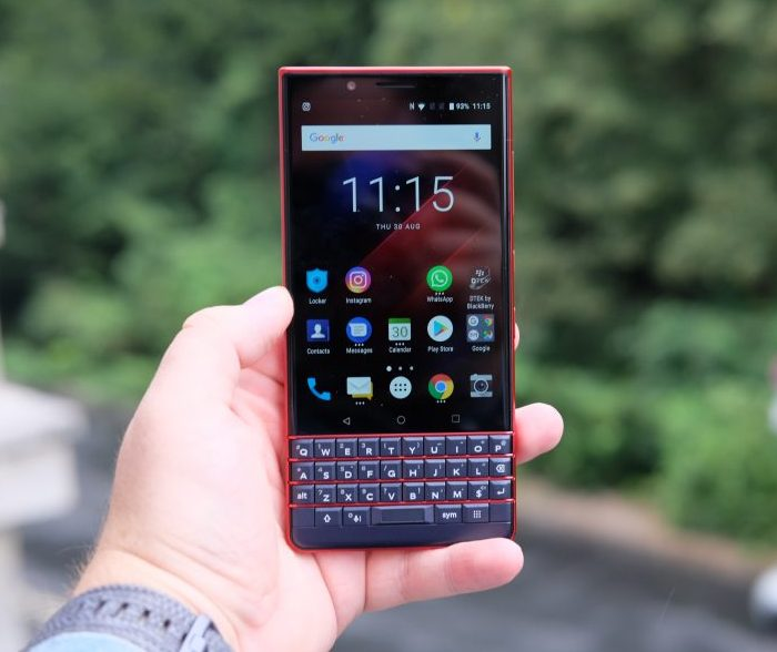 BlackBerry Launches New Bold Red Edition of Key2