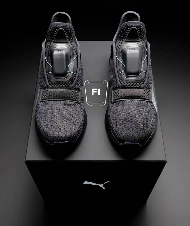 puma self lacing shoes