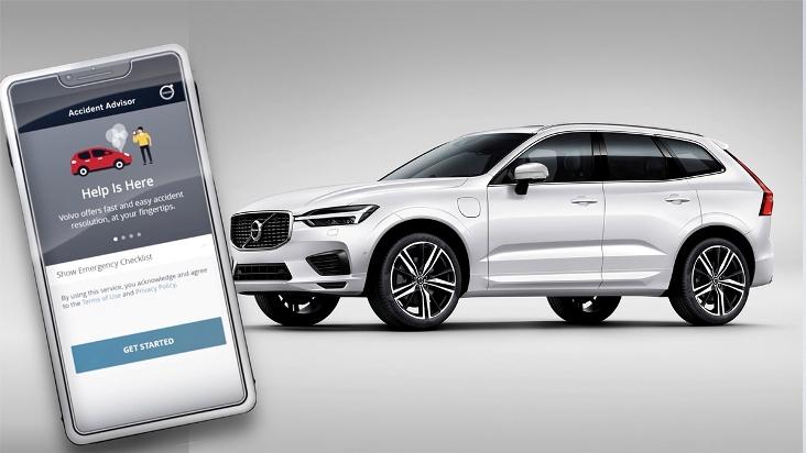 Volvo Accident Advisor App Gadget Gram