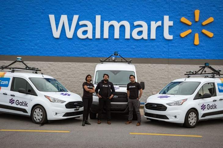 Walmart, Automated Delivery Vehicles