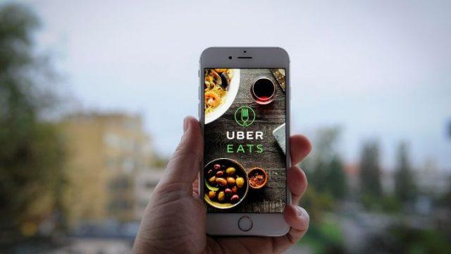 Uber Eats service