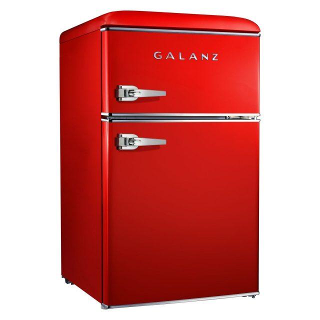 Galanz Red Retro Mini Fridge Main