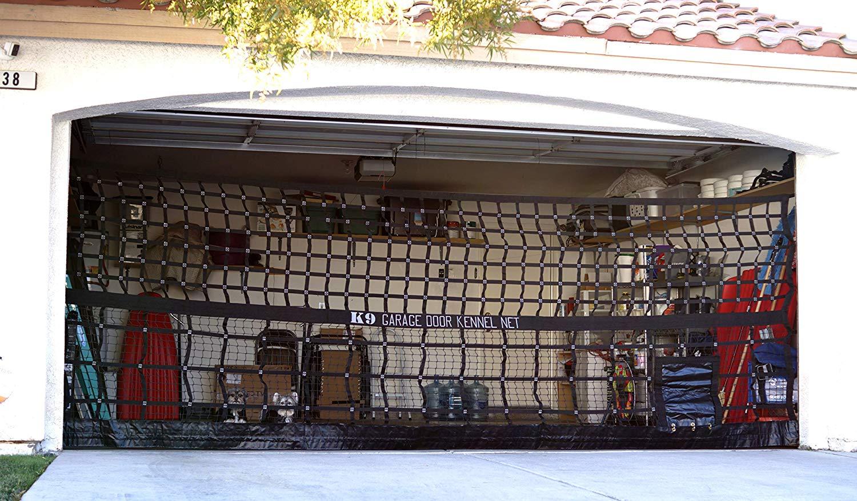 K9 Garage Door Kennel Net