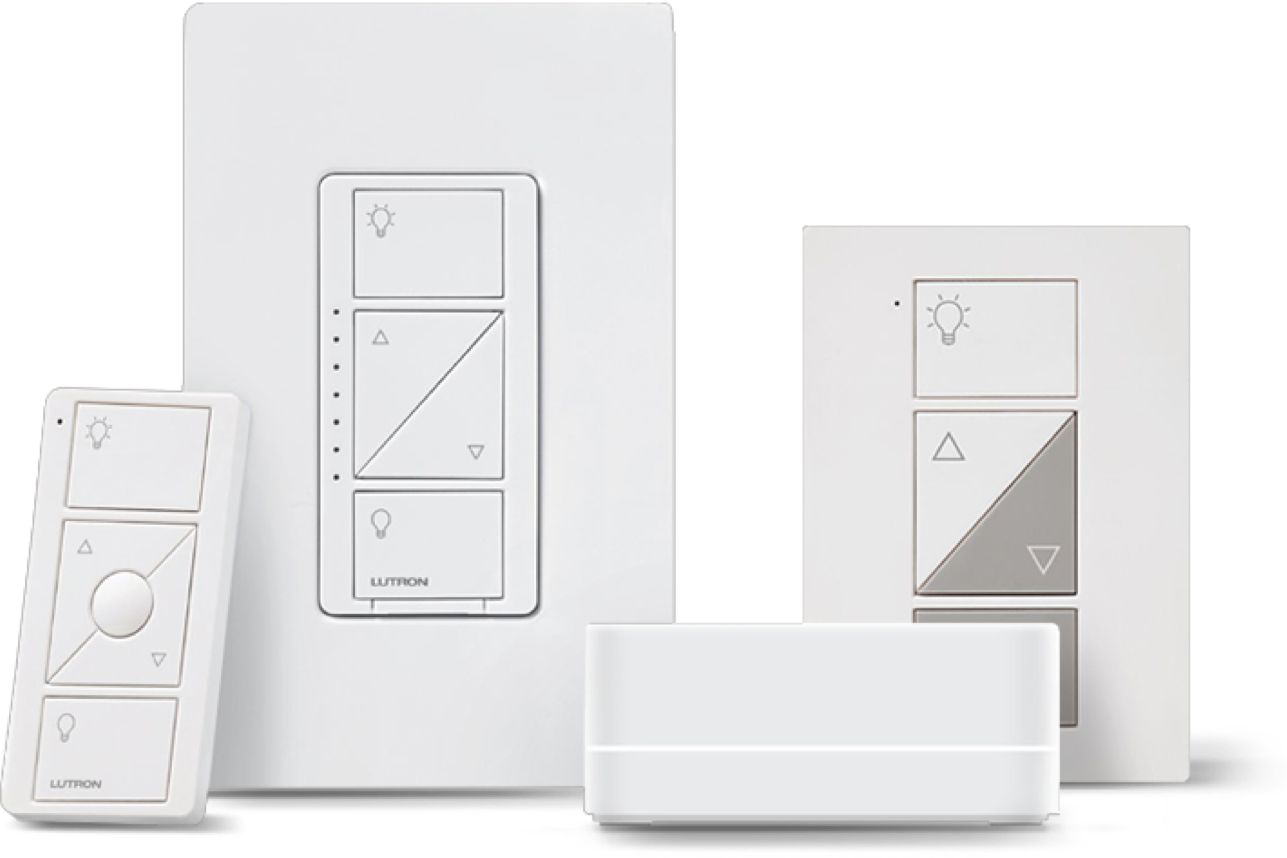 Lutron Caséta Wireless Lamp Dimming Smart Plug Kit with Smart Bridge
