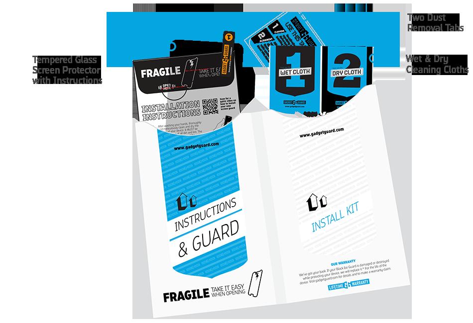 Black Ice Screen Protector Kit