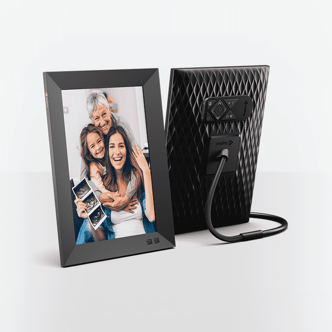 Nixplay 10.1 Inch Smart Photo Frame W10F Black