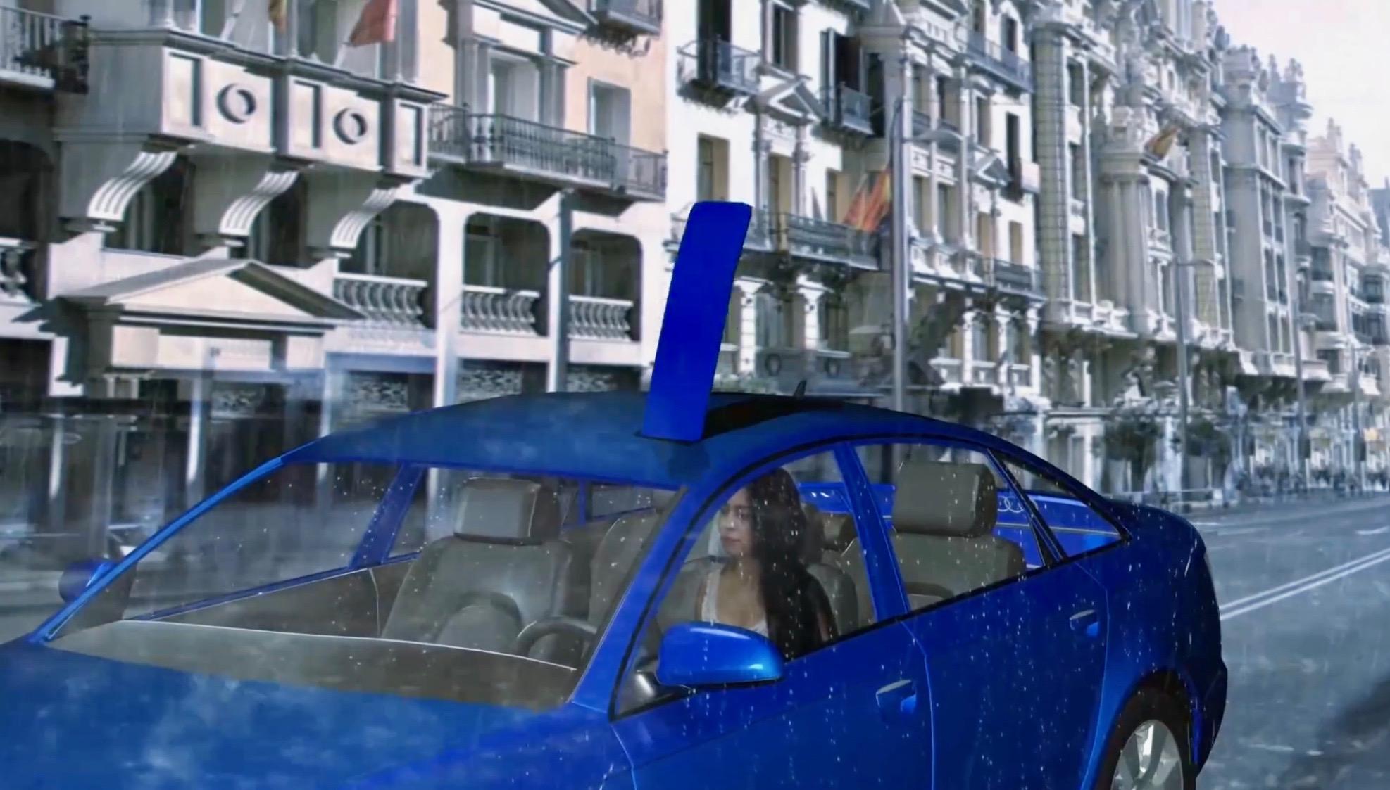 moBrella - Built-In Umbrella Car Solution