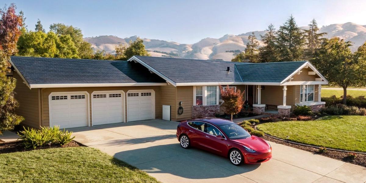 Tesla Solar Roof Tiles V3