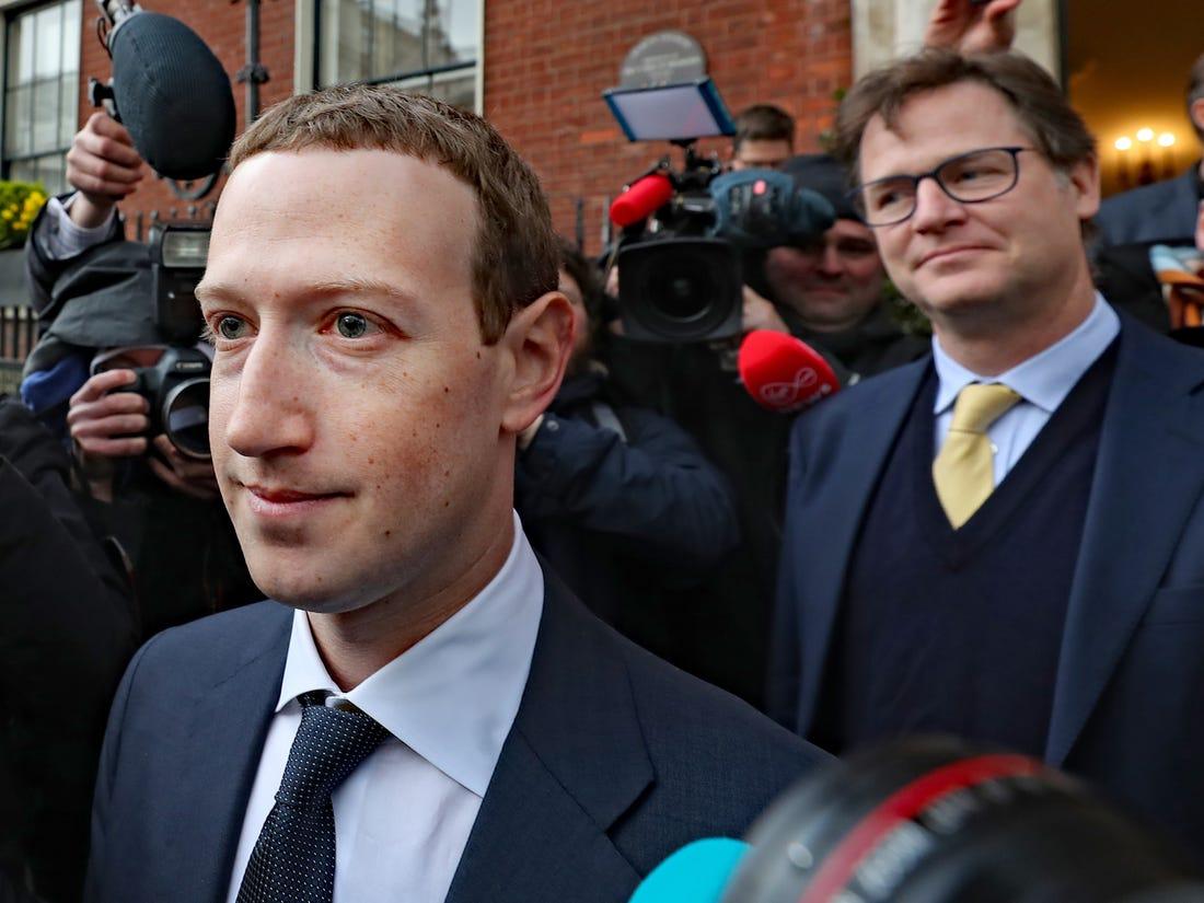 Facebook's Chairman and CEO Mark Zuckerberg