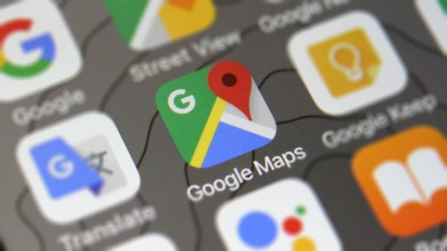 Google Maps iOS Report Traffic Incidents Main