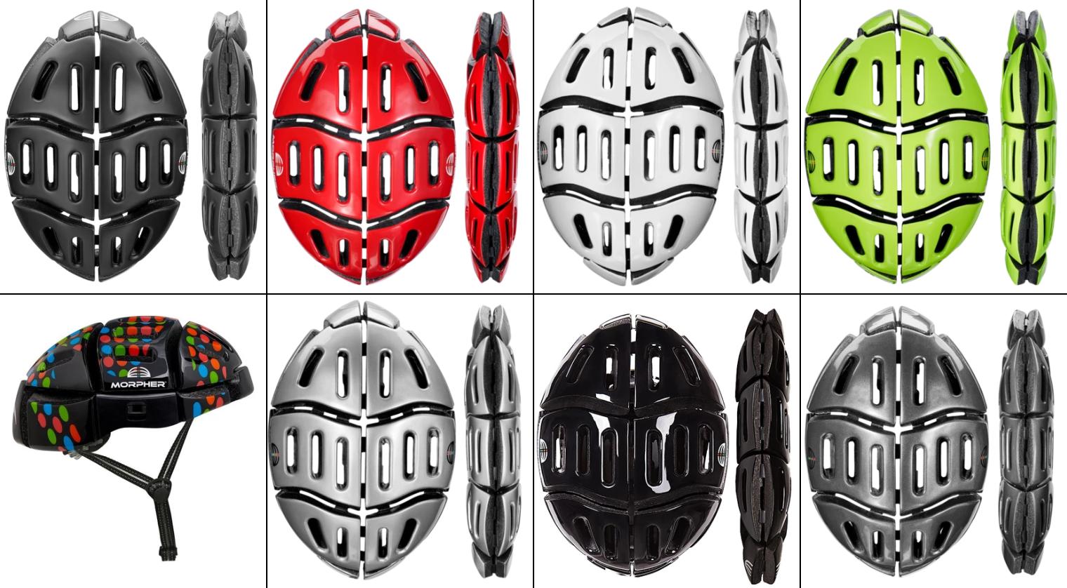 Morpher Foldable Helmet