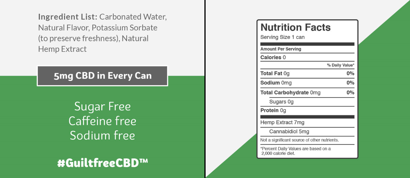 CBD Seltzer Ingredients