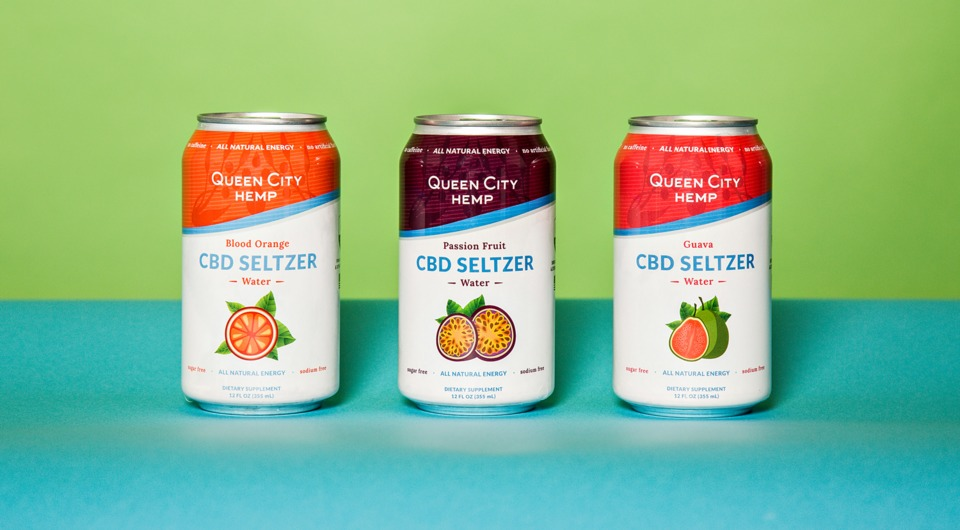 Queen City Hemp CBD Seltzer