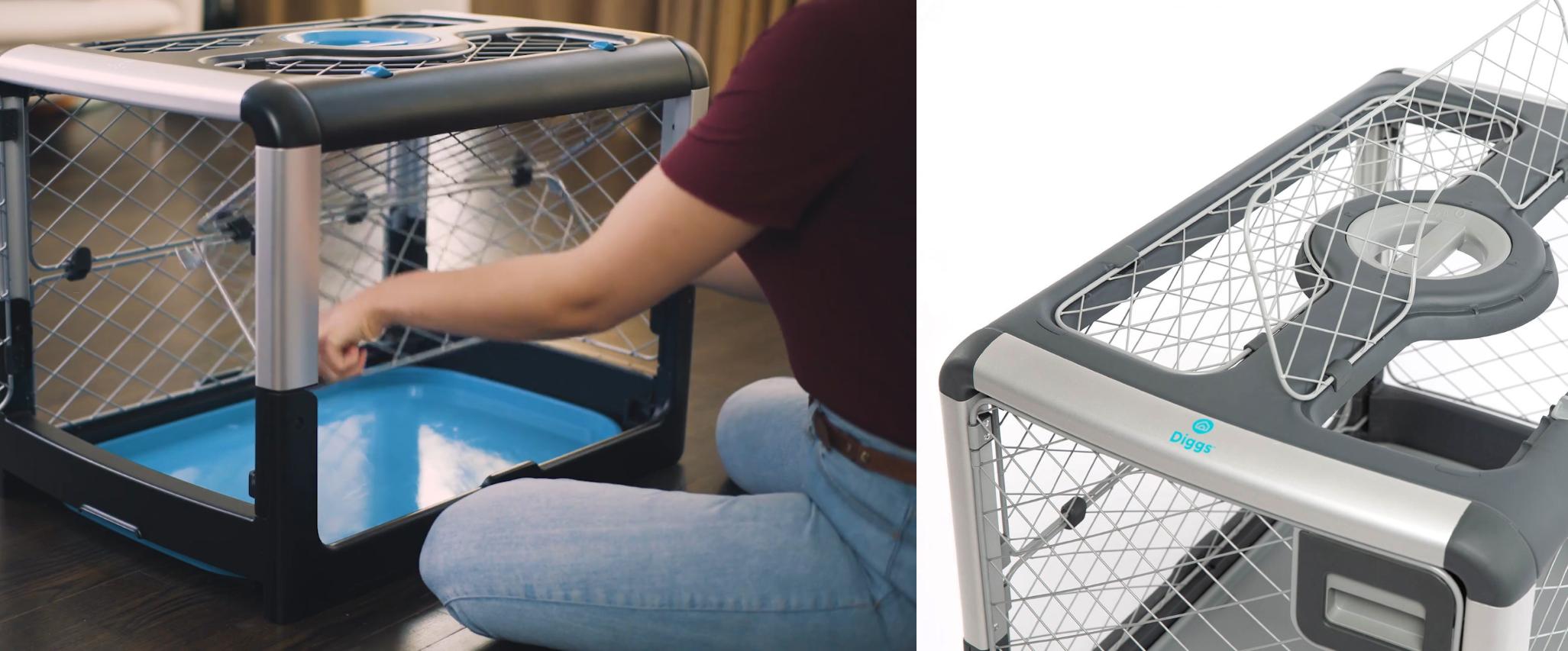 Revol Dog Crate - Accessibility