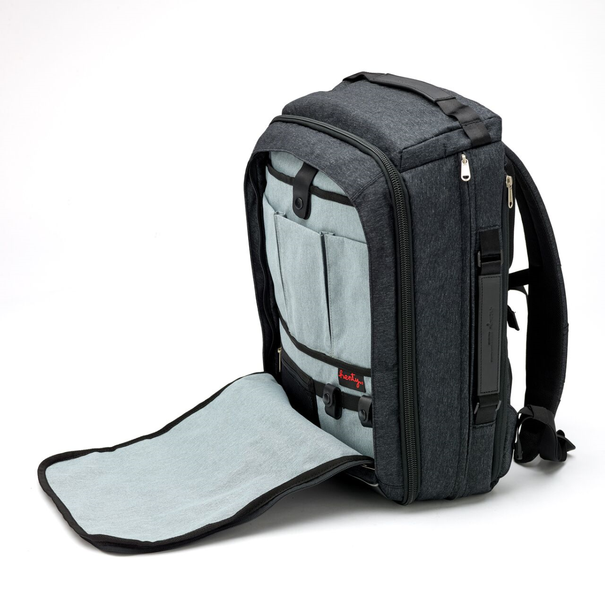 Henty Travel Brief Backpack Carry Clever Design