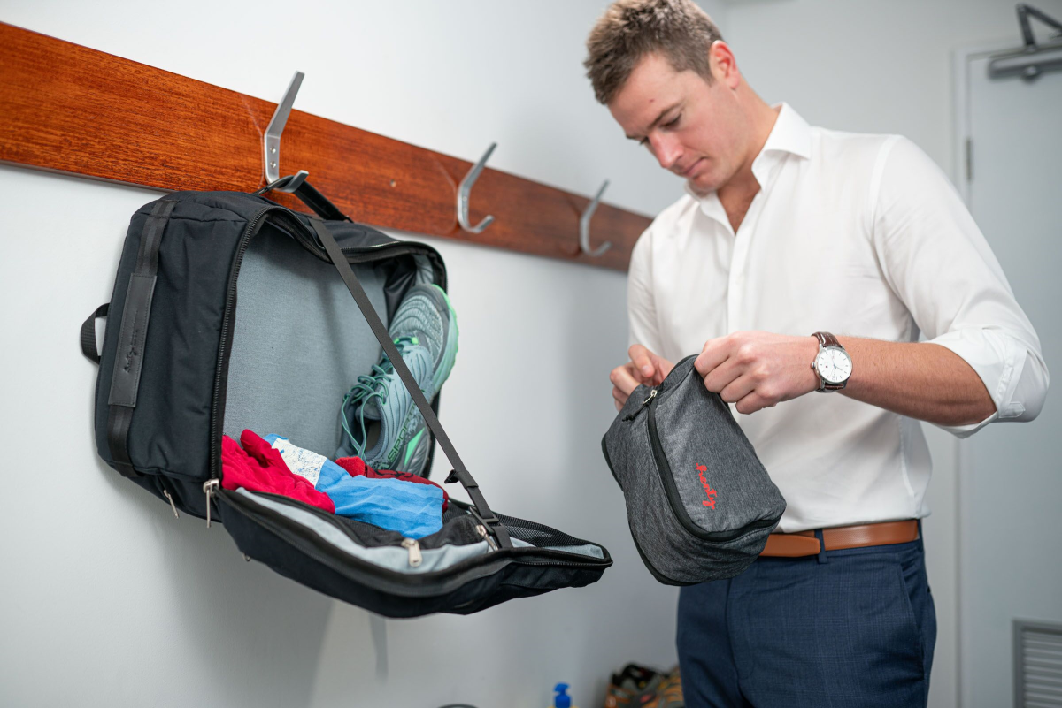 Henty Travel Brief Backpack Gym Dressing Table