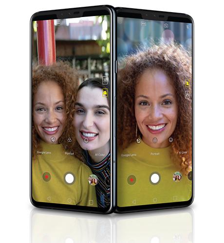 LG V40's Simple Selfies