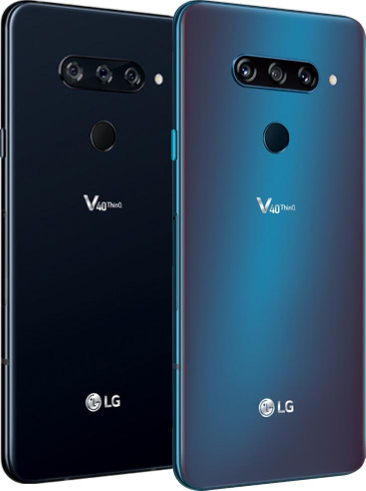 LG V40's Two Color Models