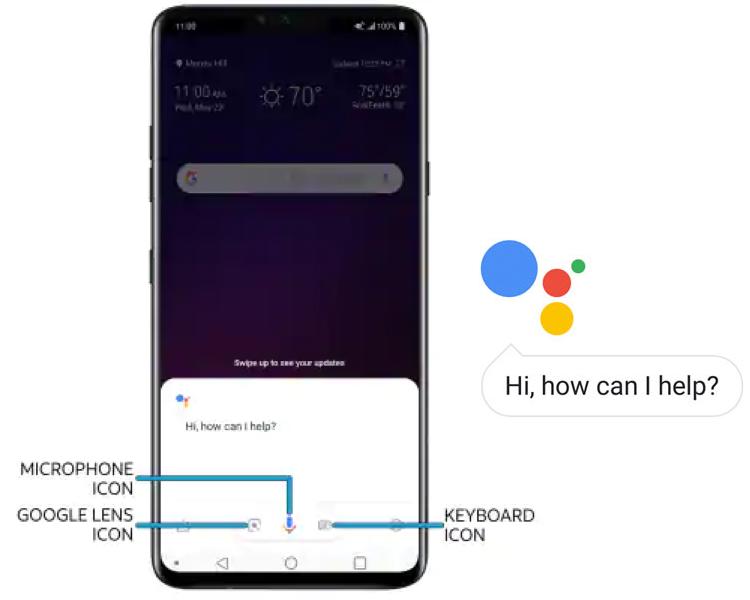 LG V40 Google Assistant