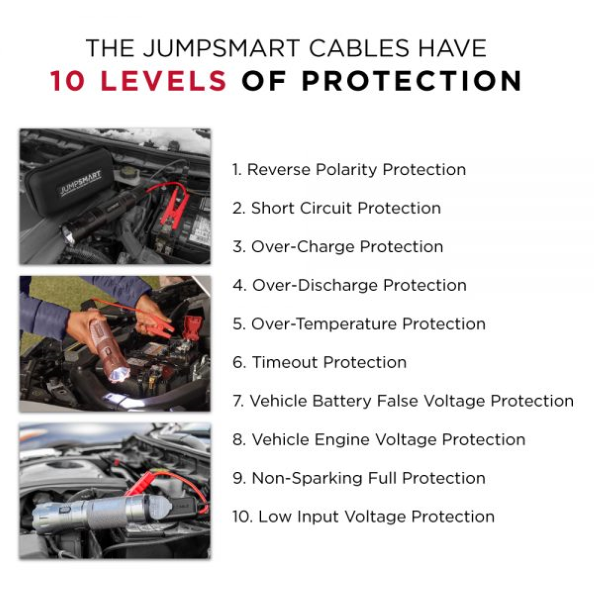 Jumpsmart - 10 Built-In Safety Features