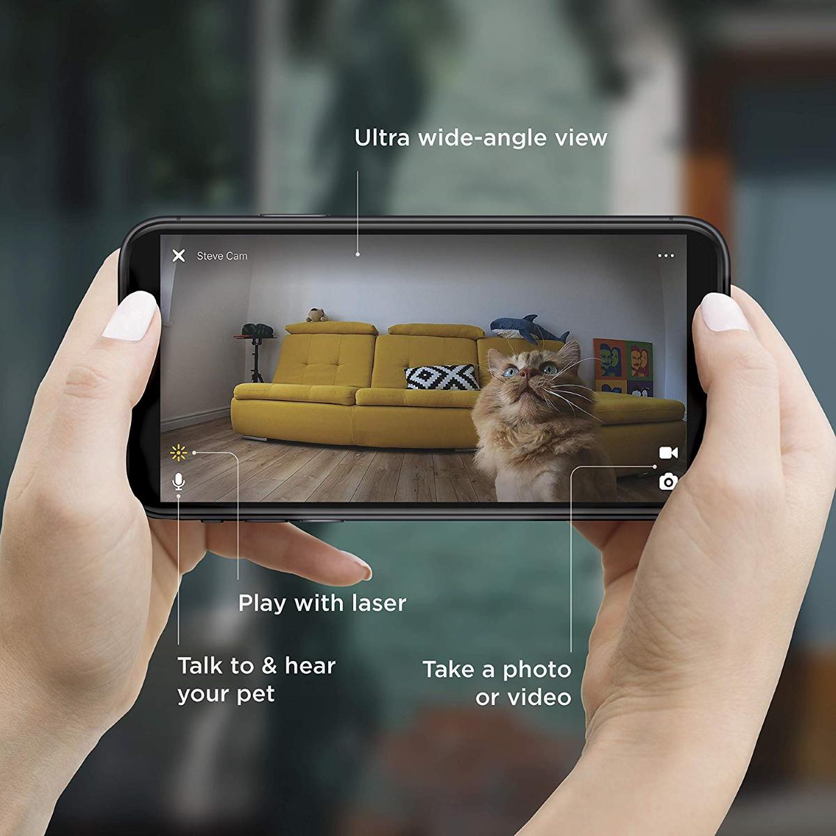 Petcube 2 App UI