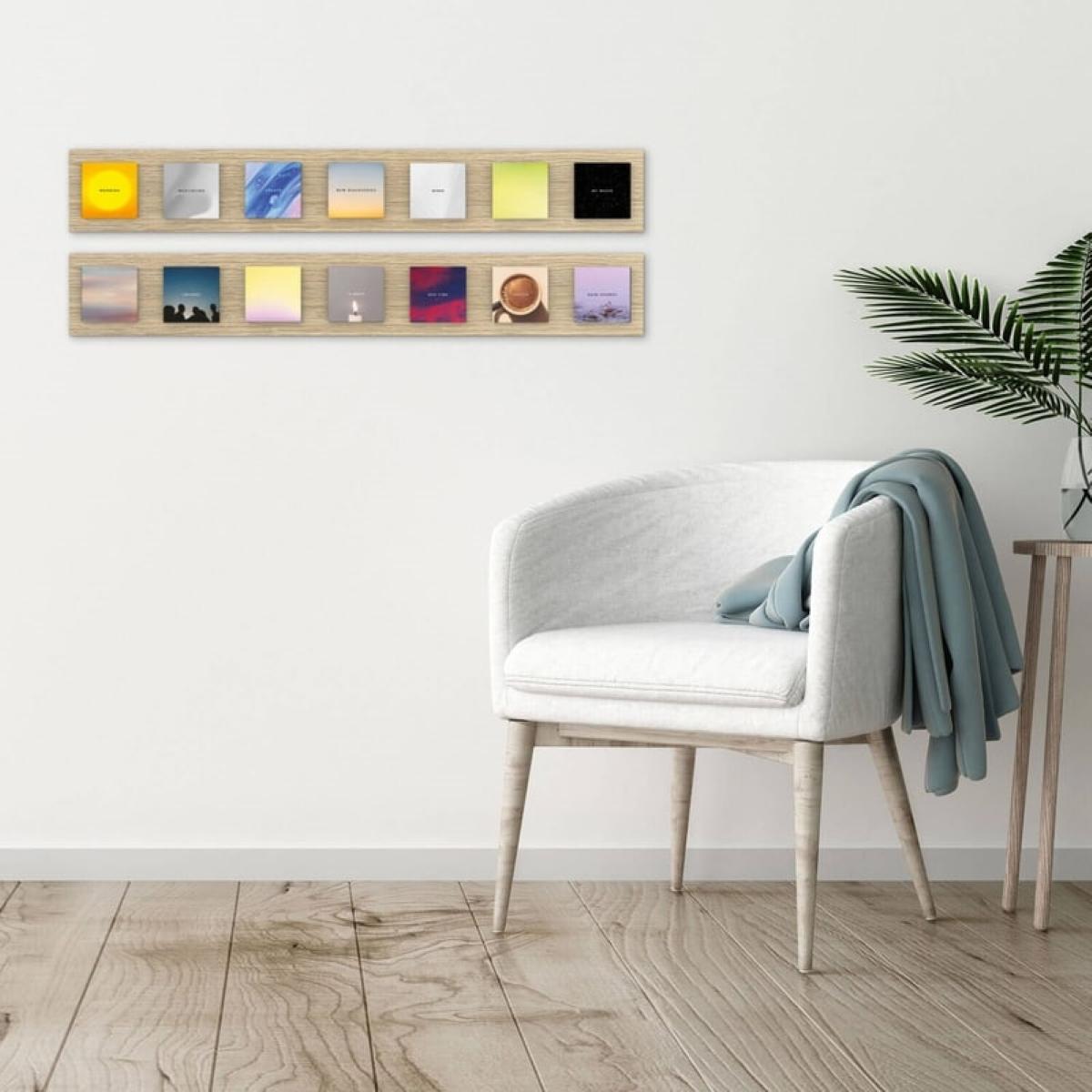 Senic Muse Blocks Art Bar Set