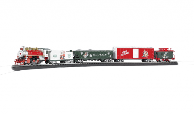 Bachmann HO Norman Rockwell Christmas Train Set