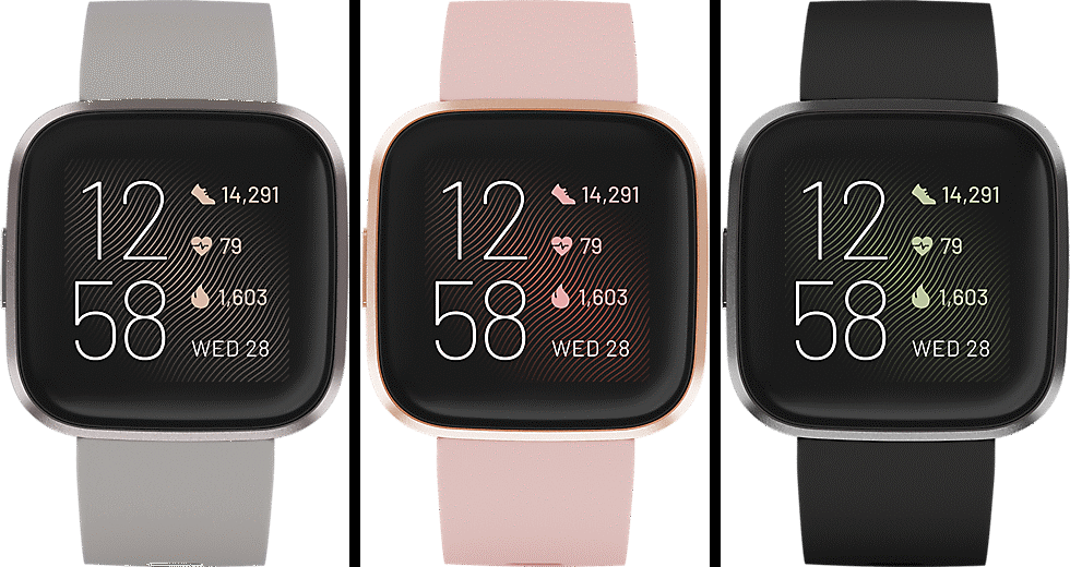 Fitbit Versa 2 - 3 Different Models