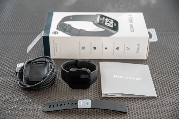 Fitbit Versa 2 - Box Contents