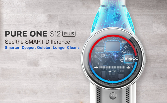Smart Cordless Vacuum Cleaner: Pure One S12 Plus