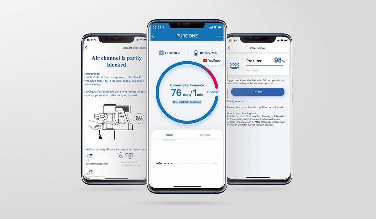 Tineco Smartphone App