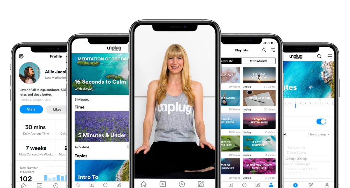 Unplug - App Design