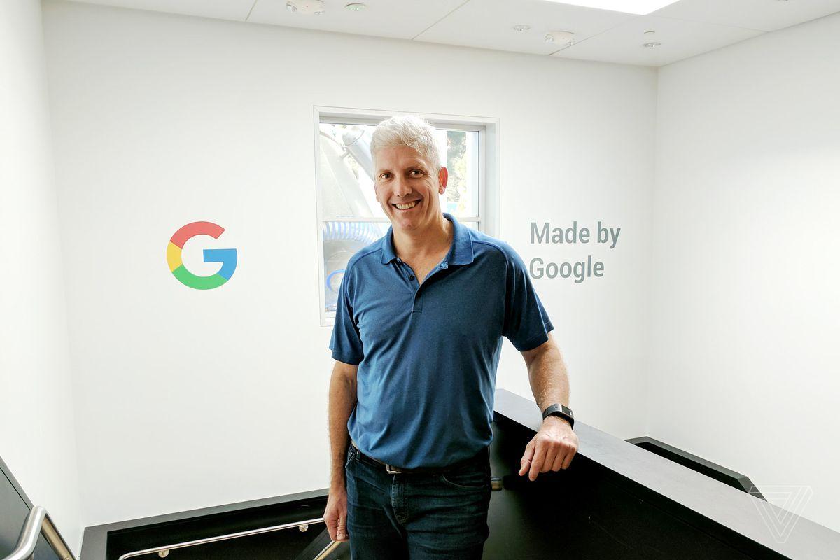 Google Senior VP and CEO Rick Osterloh