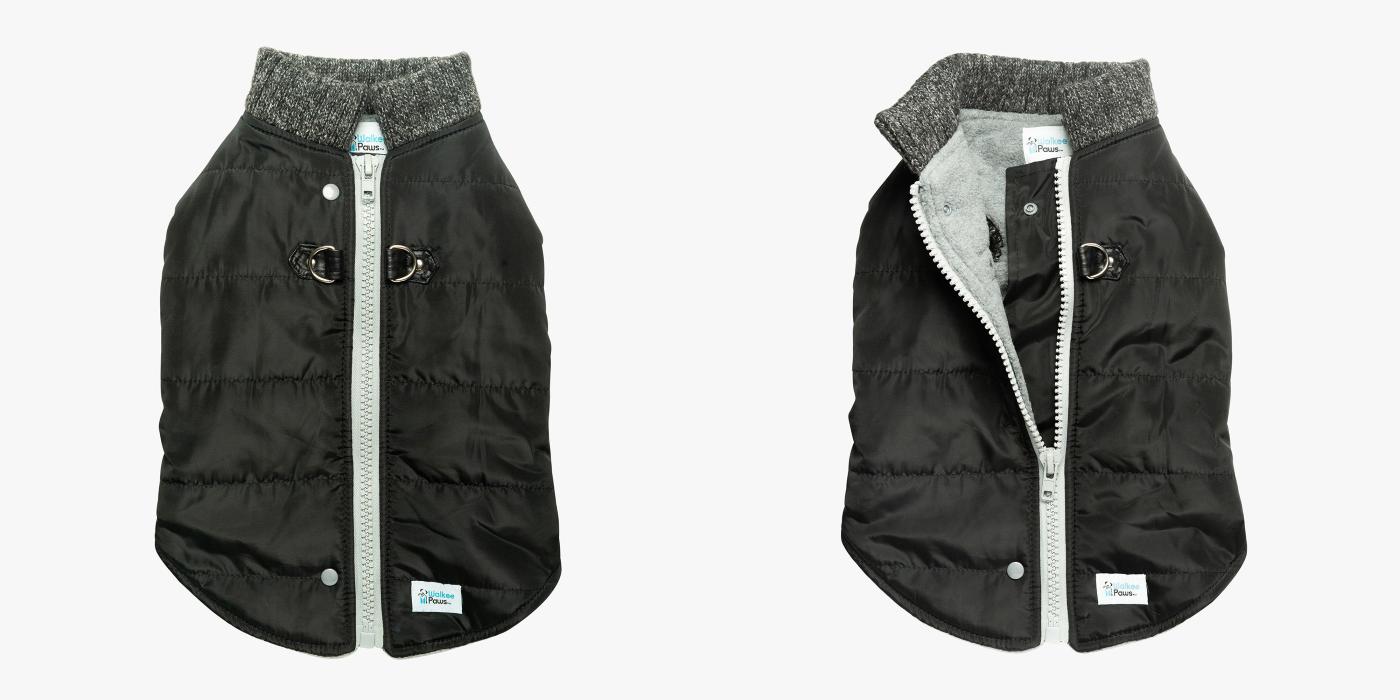 Walkee Paws Dog Puffer Coat - Design