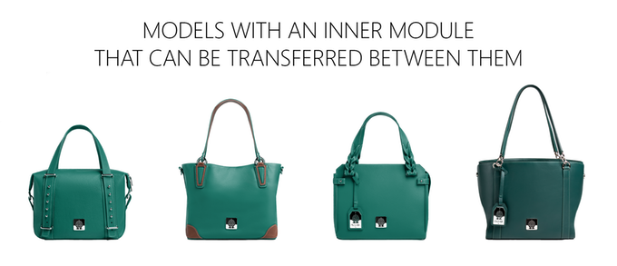 Clover Bag - Removable Inner Part - Available Models