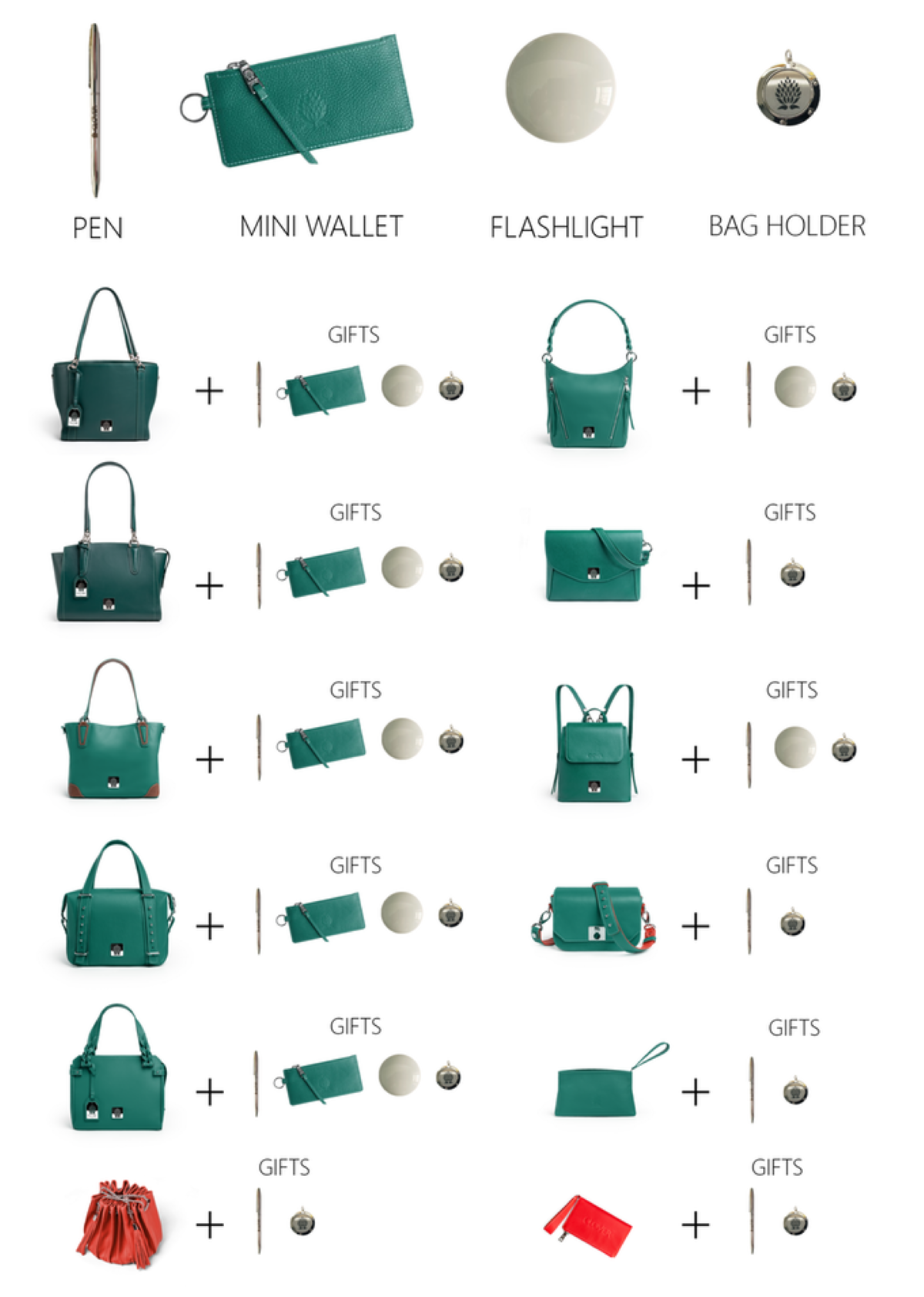 Clover Bag - Accessories