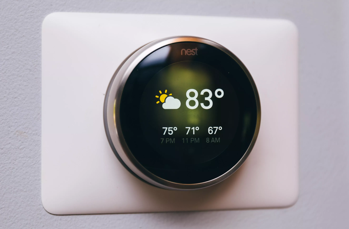 Smart Home Thermostat  Google Nest Learning Thermostat Review