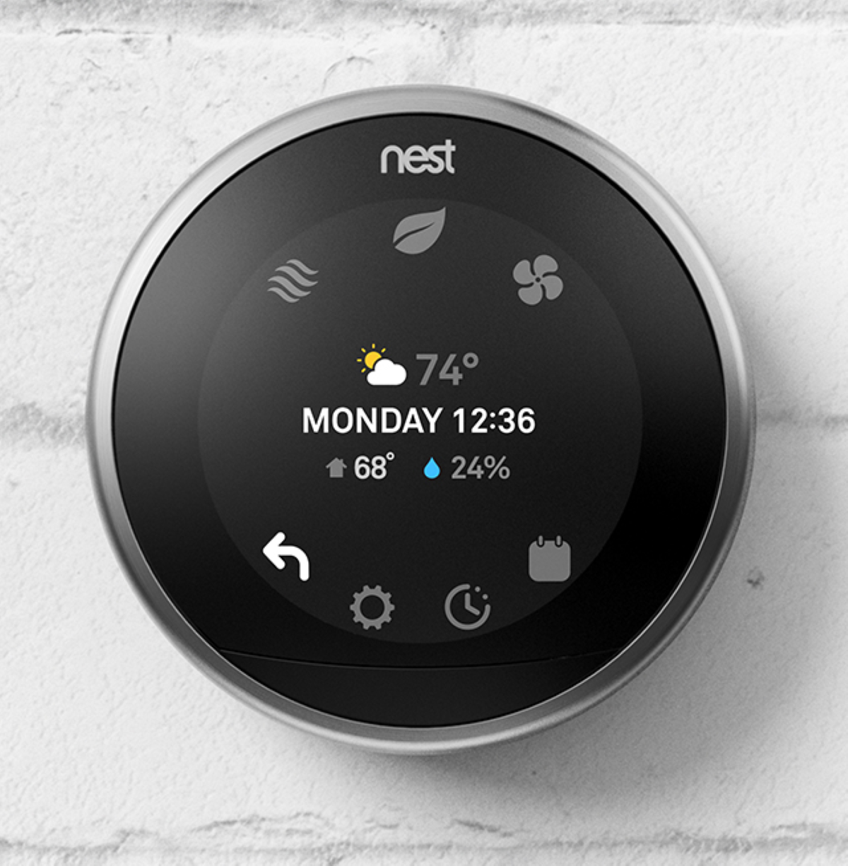 Google Nest Learning Smart Home Thermostat - Farsight Mode