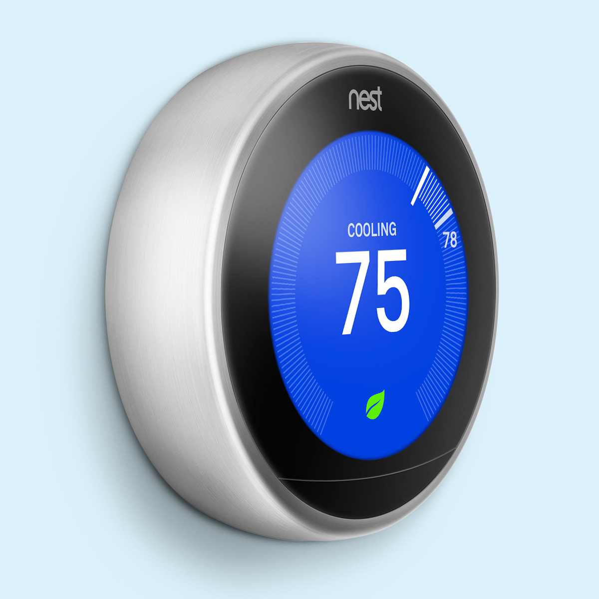 Google Nest Learning Smart Home Thermostat- Energy Saving Mode