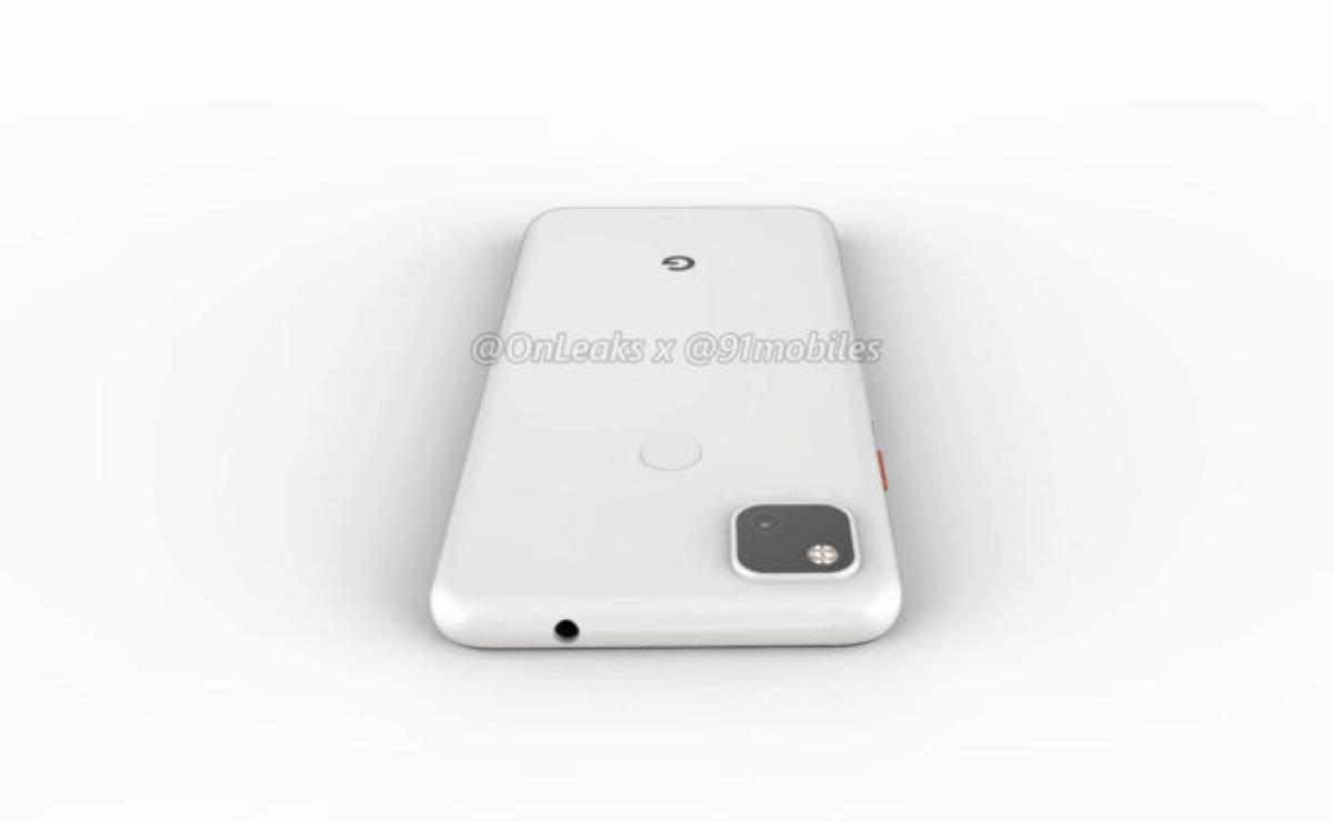 Google Pixel 4A Leaked Images - Back Side