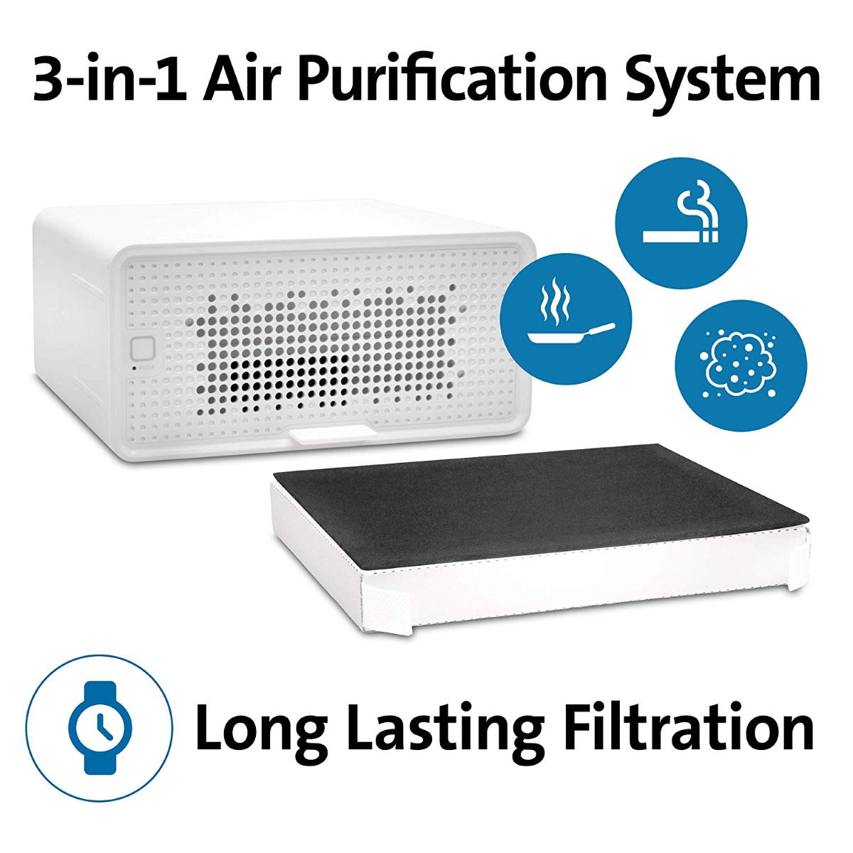 FreshView Air Purifier - 3-in-1 Air Purification System & Long Lasting Filtration