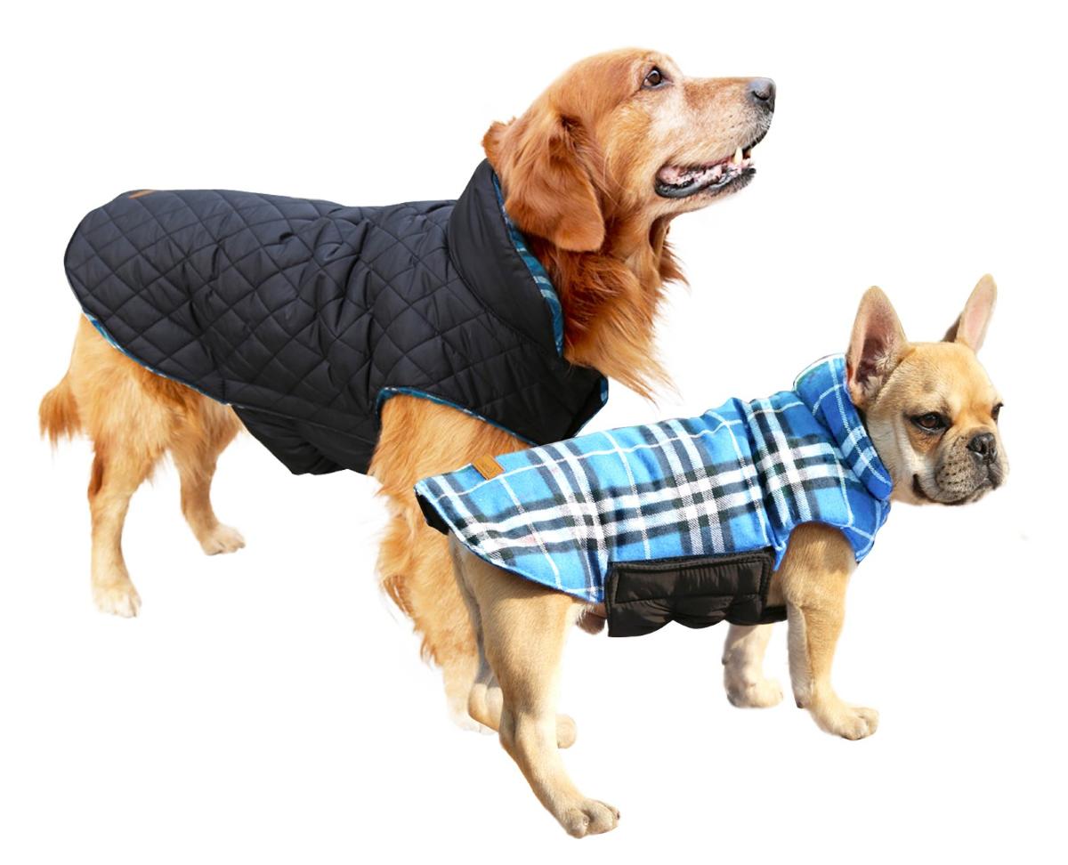 Kuoser Reversible Warm Waterproof Dog Jacket