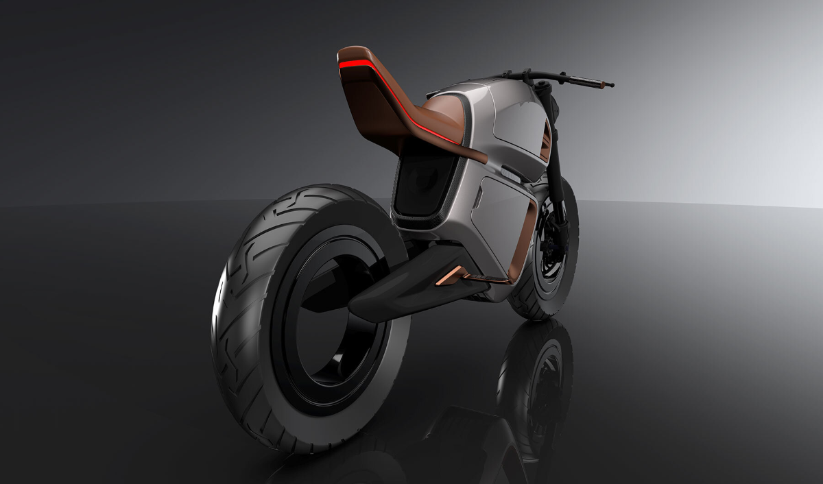 NAWA Racer - Hubless Rear Wheel, LED Taillight and Duck-Tailed Seat (2)