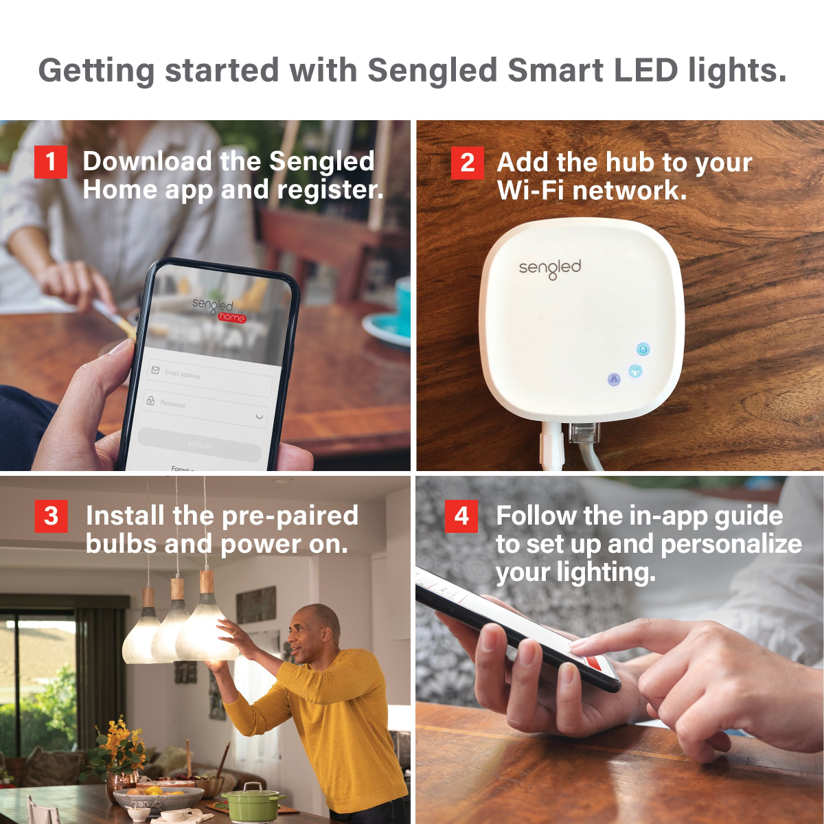 Setting up your Smart Multicolor LED Light System